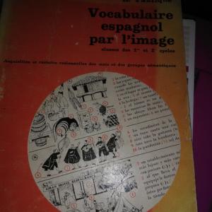 Vocabulaire espagnol par l'image