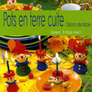 Petits personnages en Pots de terre cuite pour décors de table : Des idées amusantes à partir de pots miniatures