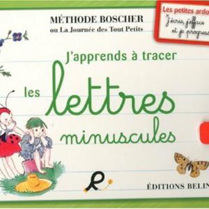 J'apprends à tracer les lettres minuscules